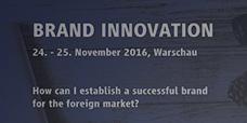 Brand Innovation Konferenz in Warschau